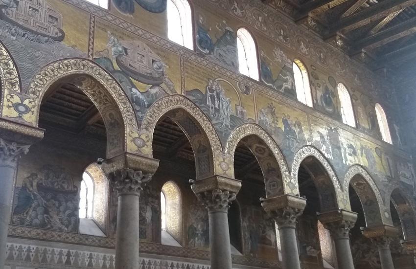 interno cattedrale di palermo