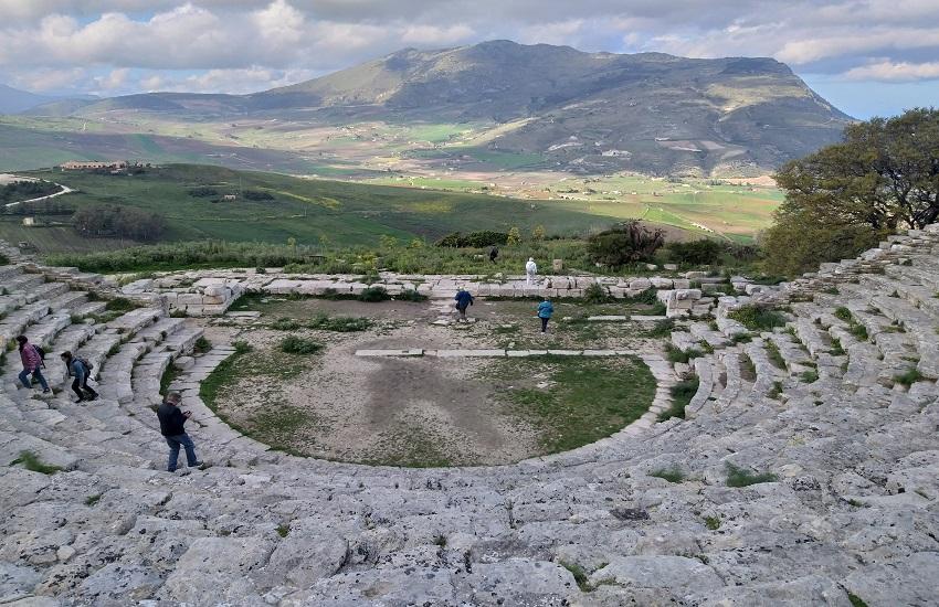 area archeologica di segesta